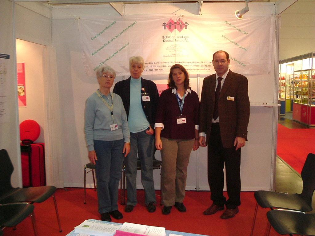 Jörg Küpper führt Ultraschalluntersuchungen der Schilddrüse für die Schilddrüsen-Liga durch und berät Apotheker