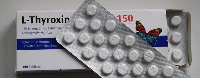 Thyroxin-Schachtel