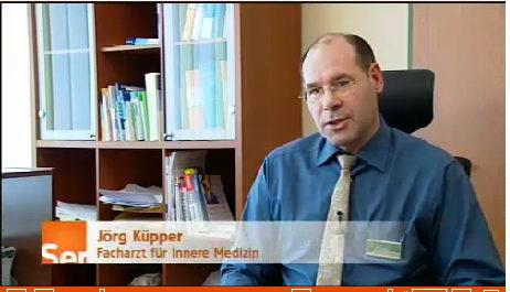 Jörg Küpper Inverview WDR Servicezeit Schilddrüse
